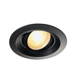 Philips LED Inbouwspot Demy  - Dimbaar - Kantelbaar - Mat zwart