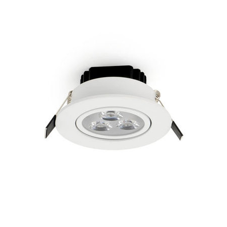 OutledTL  LED Inbouw Spot Floris | 3 watt Dimbaar  Warm wit 2700K