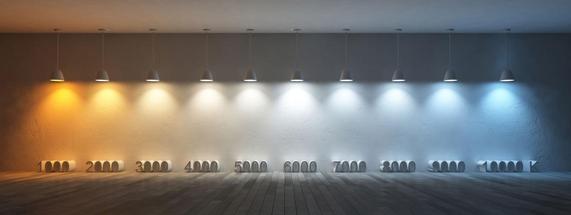 Welke lichtkleur moet ik kiezen bij LED verlichting en wat is Kelvin?