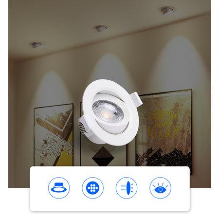 OutledTL Led Spot Jens -  inbouwspot - Wit - Modern Design