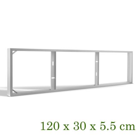 Blinq88 Opbouwframe voor led paneel 120 x 30CM