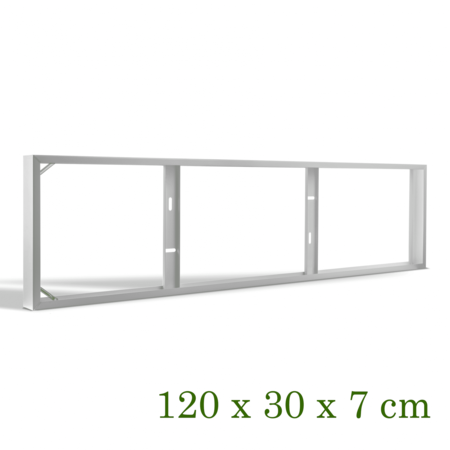 Blinq88 Opbouwframe voor Backlight led paneel 120 x 30CM