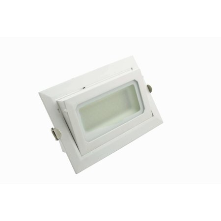 Blinq88 Led Banaanspot 30 watt  | Led Downlight - vierkant - 30 watt - kantelbaar