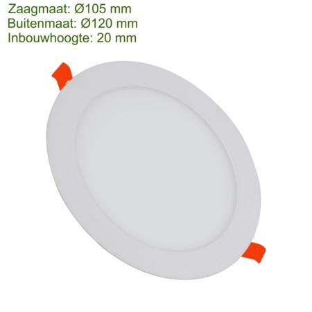 Blinq88 LED Downlight SLIMLine Zaagmaat Ø105 - 6 Watt