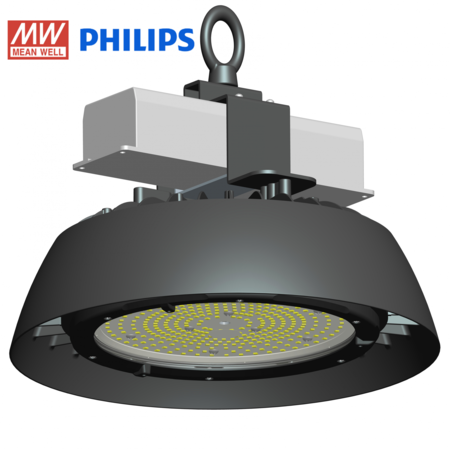 Blinq88 LED HighBay IP65 - 100W - 160 LM/W - Meanwell Driver - Philips Lumileds