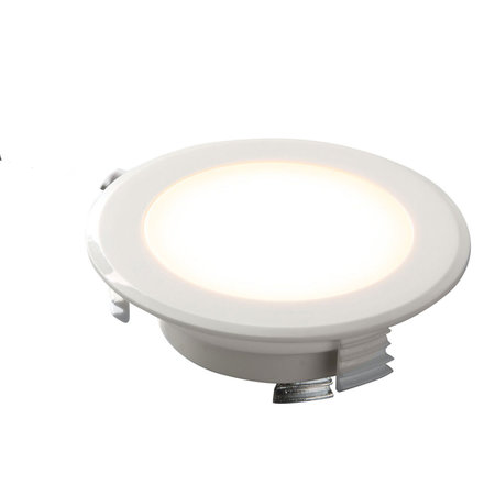 OutledTL Mini 230V LED Inbouwspot Steve  - 2 watt  - Wit - 3000K- 16MM Inbouwdiepte