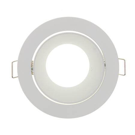 Philips LED Inbouwspot Camila - Dimbaar - Prachtig Verdiept - Mat Wit