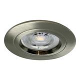 Interlight 230 Volt LED Inbouwspot Kalina - Dimbaar - 38MM inbouwdiepte - Satin Metallic