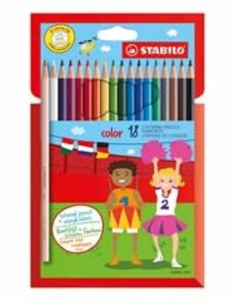 Stabilo Stabilo Colour Pencil Wallet 12 (1912/77-11)