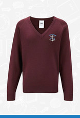 Banner Portavogie Primary V-Neck Sweater (1WP)