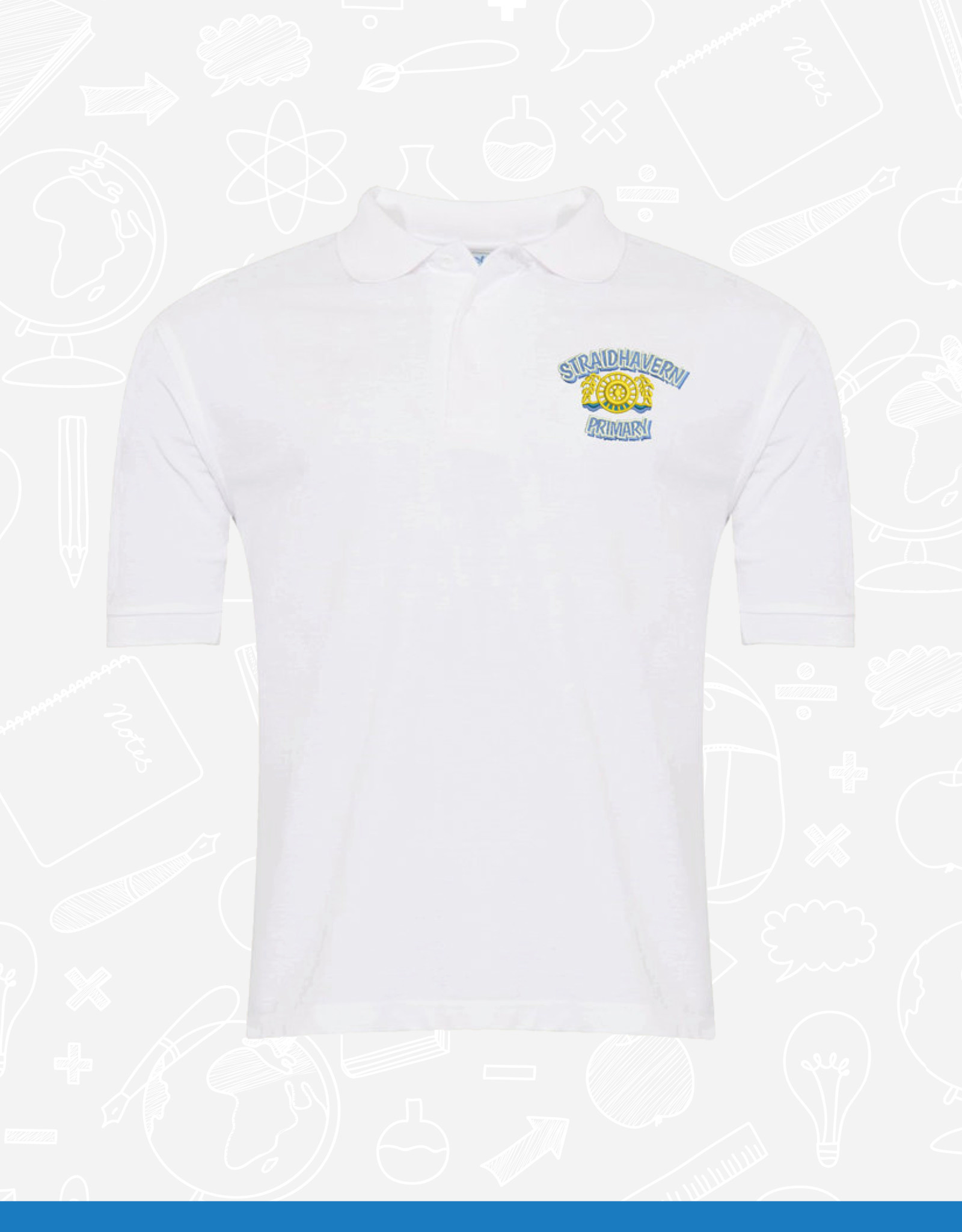 Banner Straidhavern Primary PE Polo Shirt (3PP)