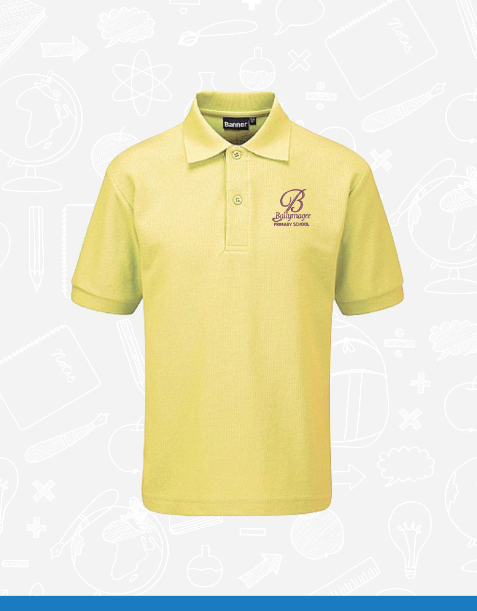 Banner Ballymagee Primary Polo Shirt (3PM)