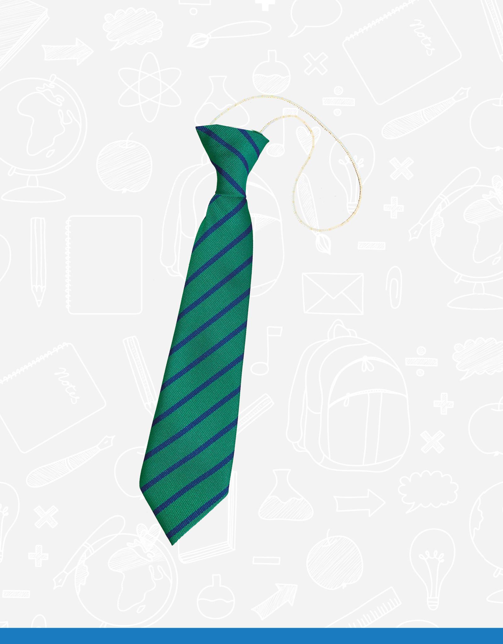 TSW Ties Bangor Central Elasticated Tie