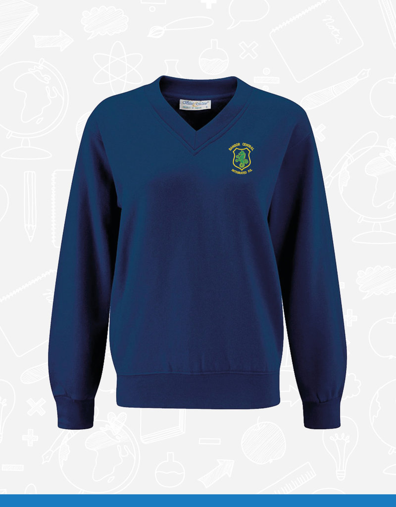 Banner Bangor Central V-Neck Sweatshirt (3SV)