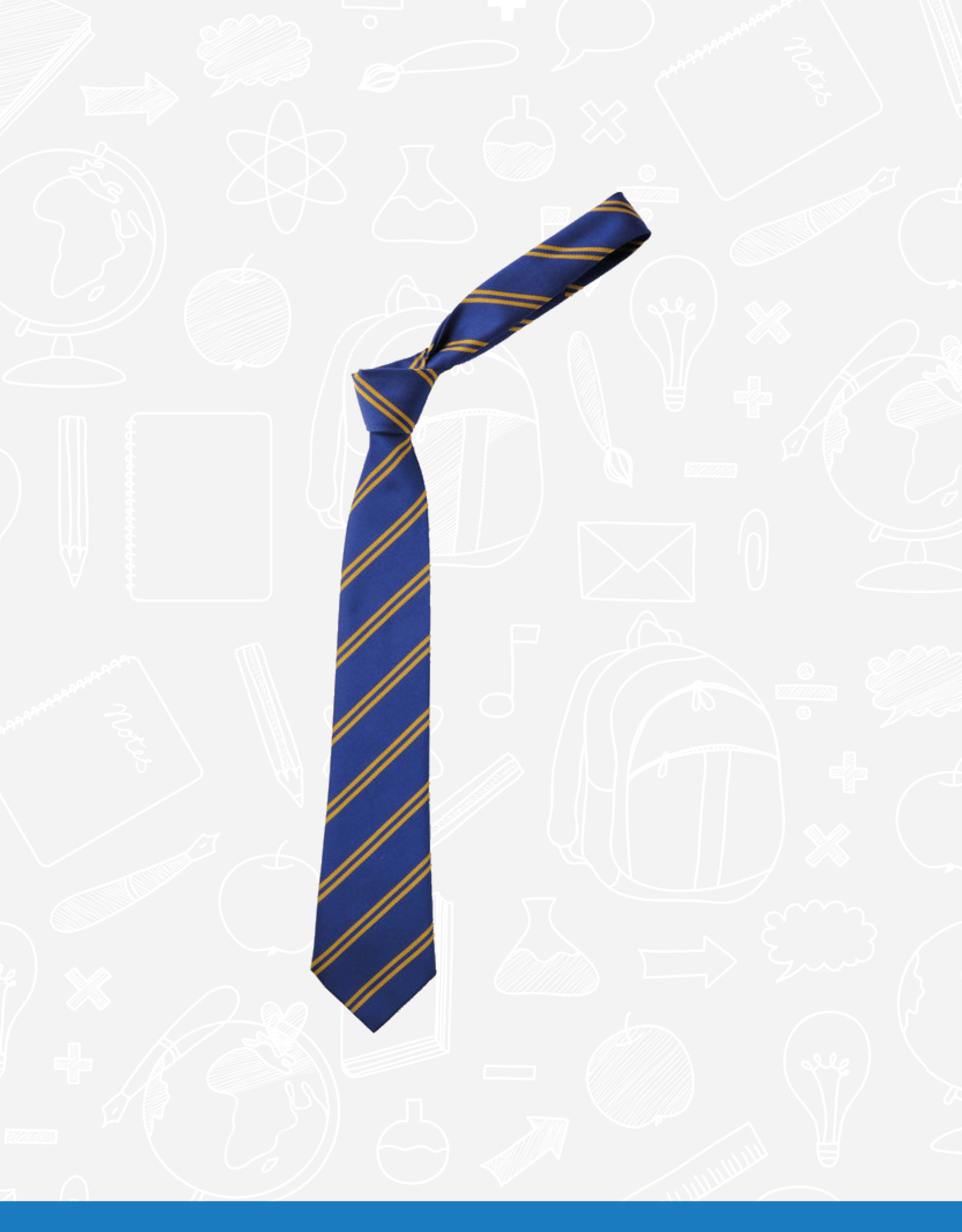 TSW Ties Belmont Primary Elasticated Tie (DS12845)