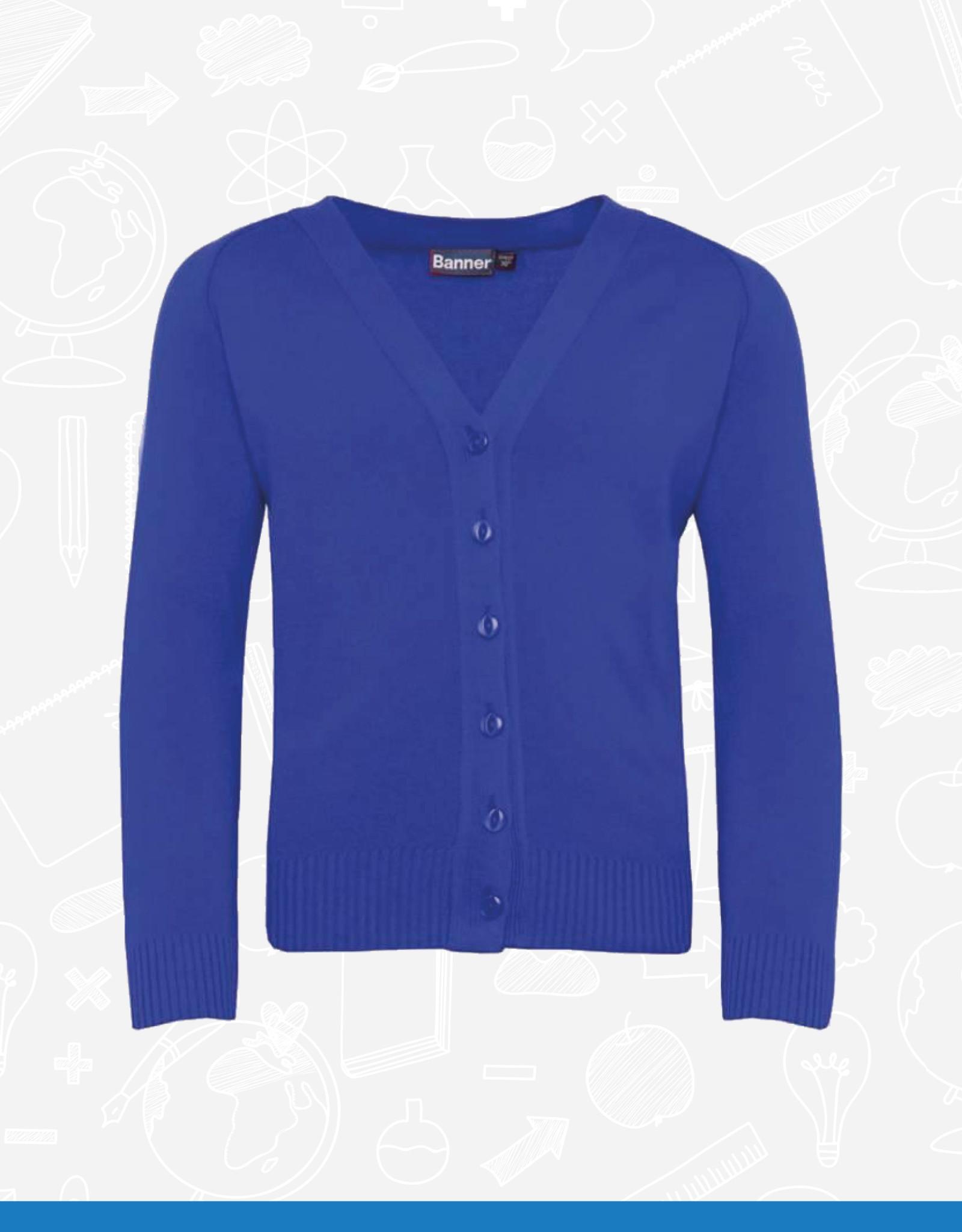 Banner Cotton/Acrylic Cardigan (1WQ) (BEL)