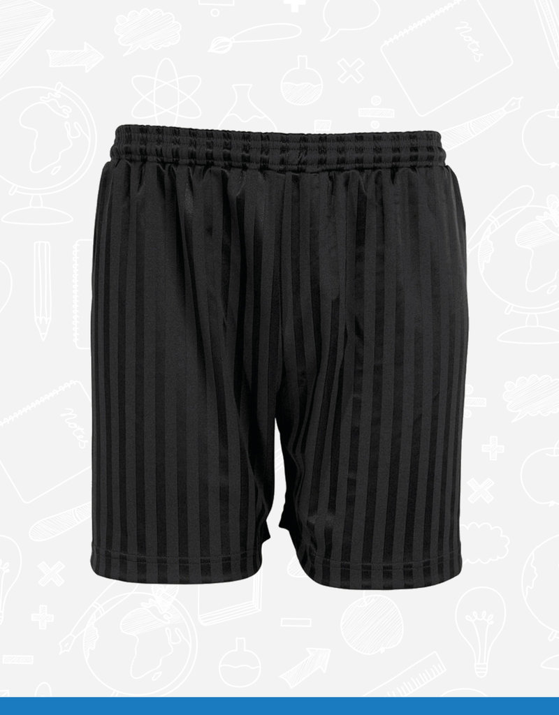 Banner Shadow Stripe Shorts (3BS) (BEL)
