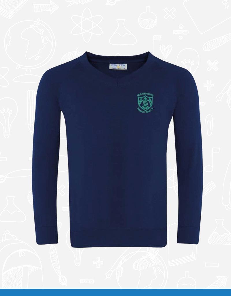Banner Strandtown Primary V-Neck Sweatshirt (3SY)