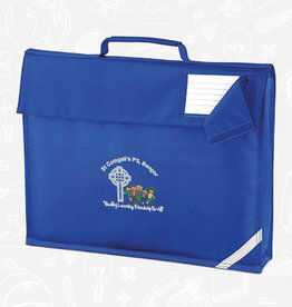 Quadra St Comgall's Primary Book Bag (QD51)