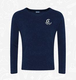 Banner Clifton School  V-Neck Sweater (1WP)