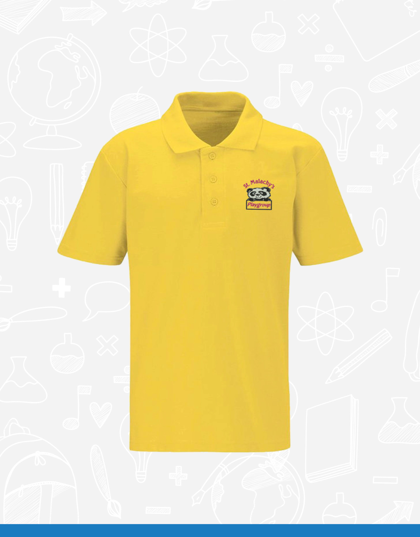 Banner St Malachy's Playgroup Polo Shirt (3PC)