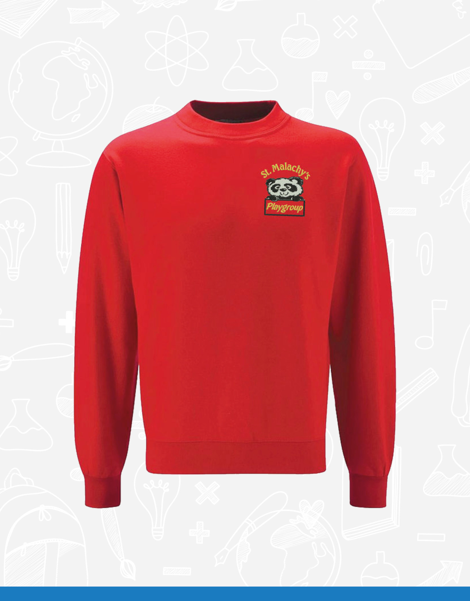 DT St Malachy's Playgroup Sweatshirt (DT)