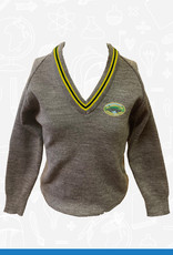 Banner Glasswater Primary V-Neck Sweater