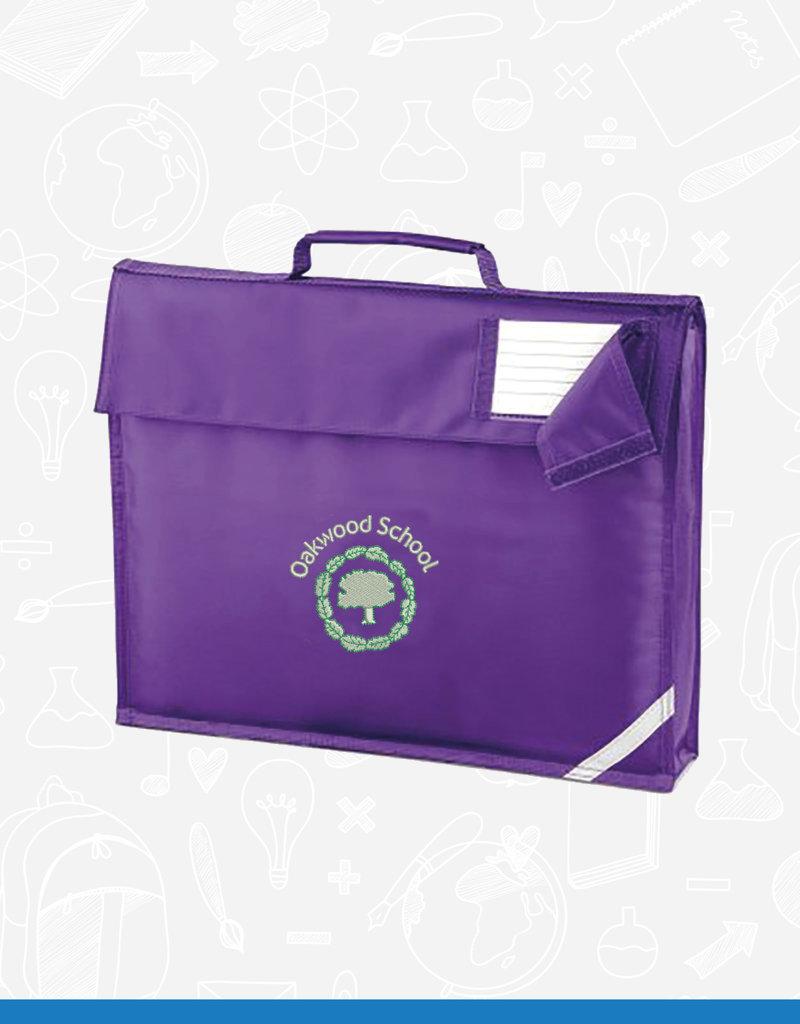 Quadra Oakwood School Book Bag (QD51)