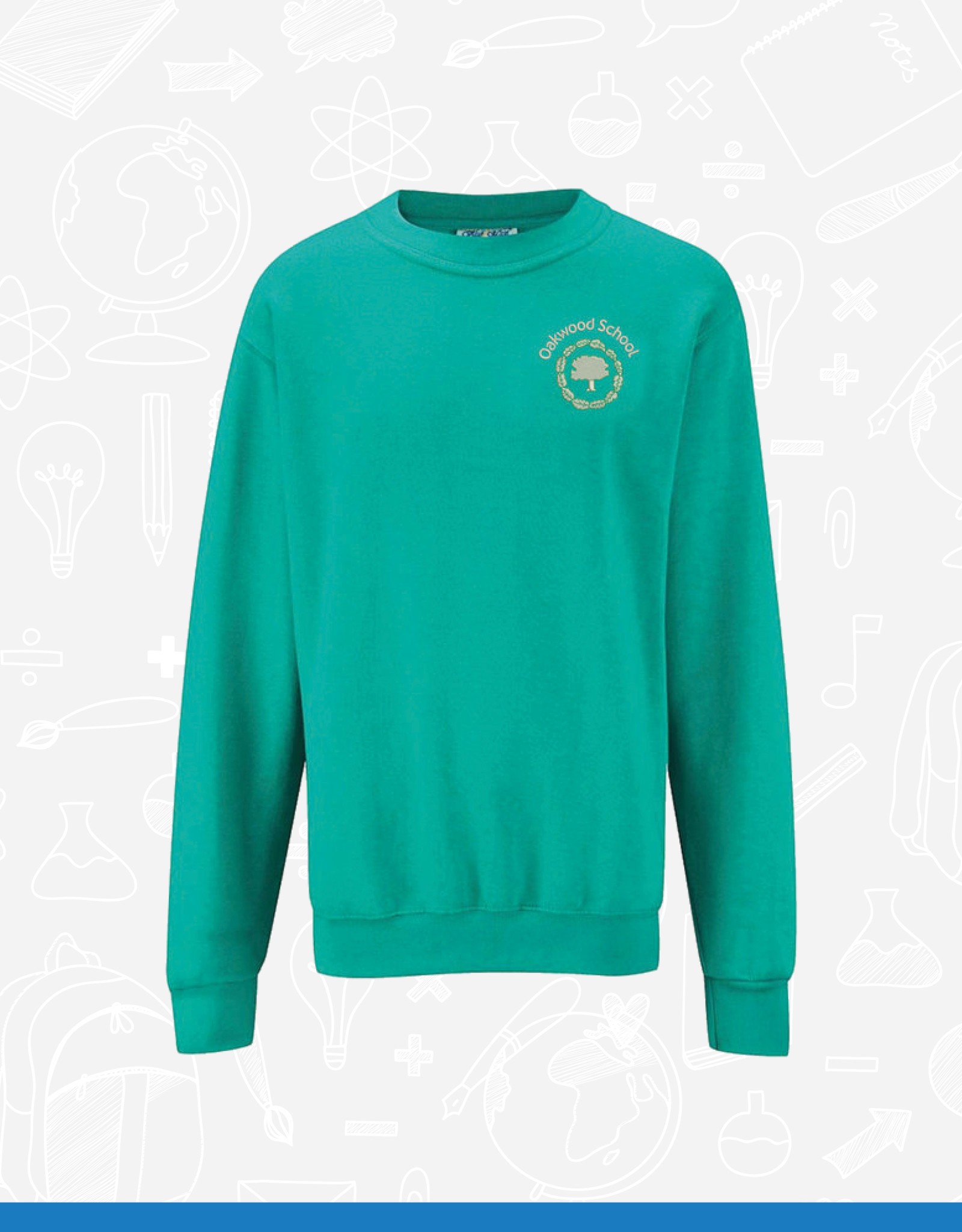 Banner Oakwood School Sweatshirt (3SD)