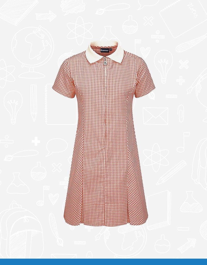 Banner Avon Zip Gingham Dress (913104) (BEL)