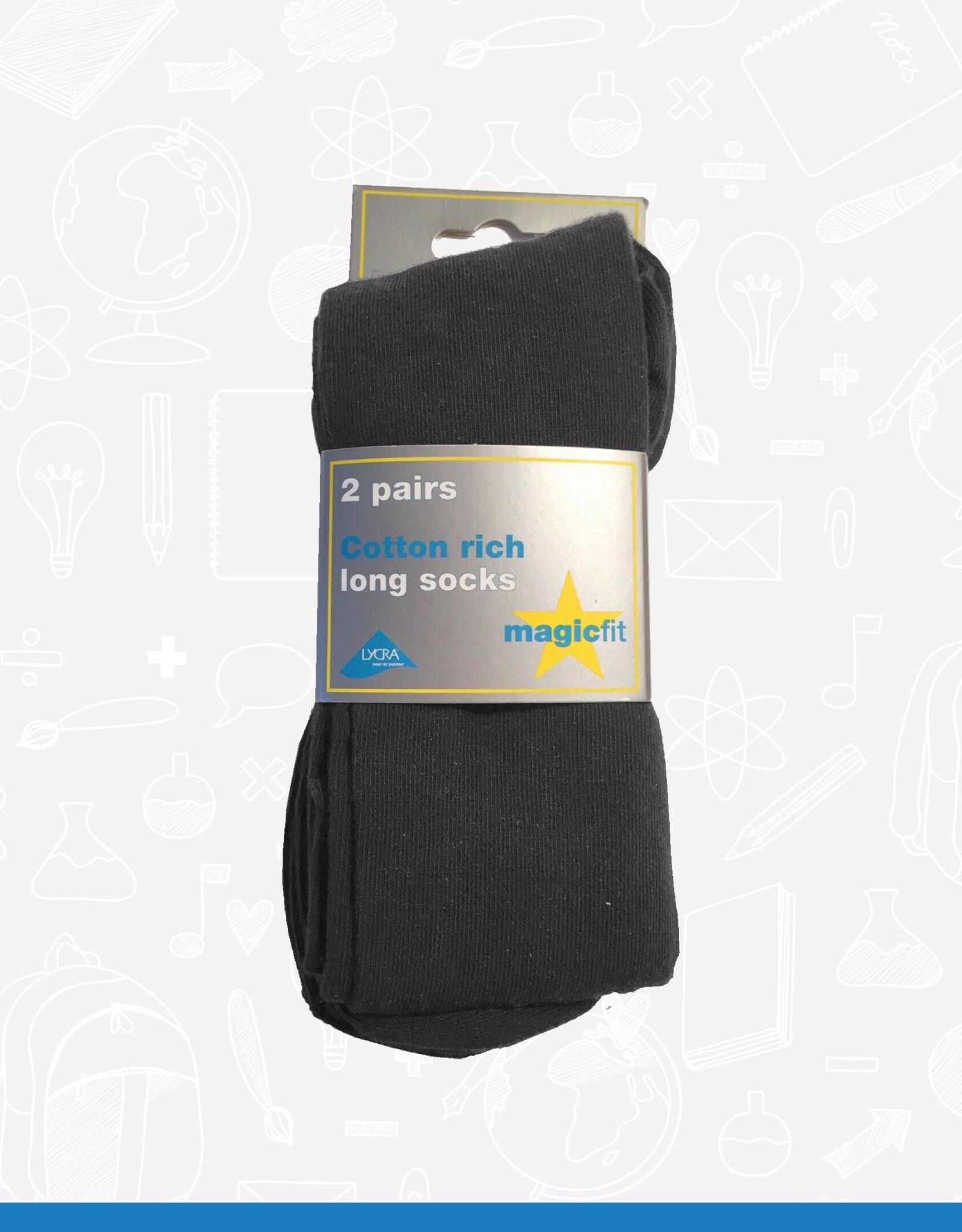 MagicFit Long Socks (2 Pack) (15/SG/2) (BAN)
