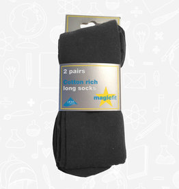 MagicFit Long Socks (2 Pack) (15/SG/2) (BAN)