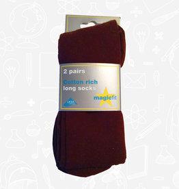 MagicFit Long Socks (2 Pack) (15/WI/2) (BAN)