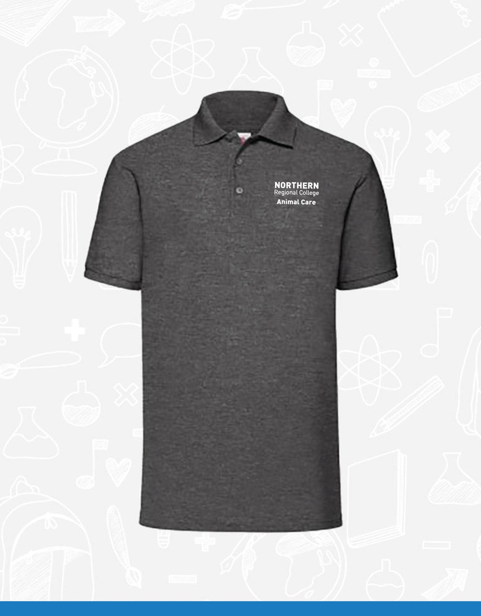Fruit of the Loom NRC Animal Care Polo (SS11)