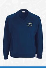 Banner Crawfordsburn Primary V-Neck Sweatshirt (3SY)