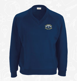 Banner Crawfordsburn Primary V-Neck Sweatshirt (3SY)