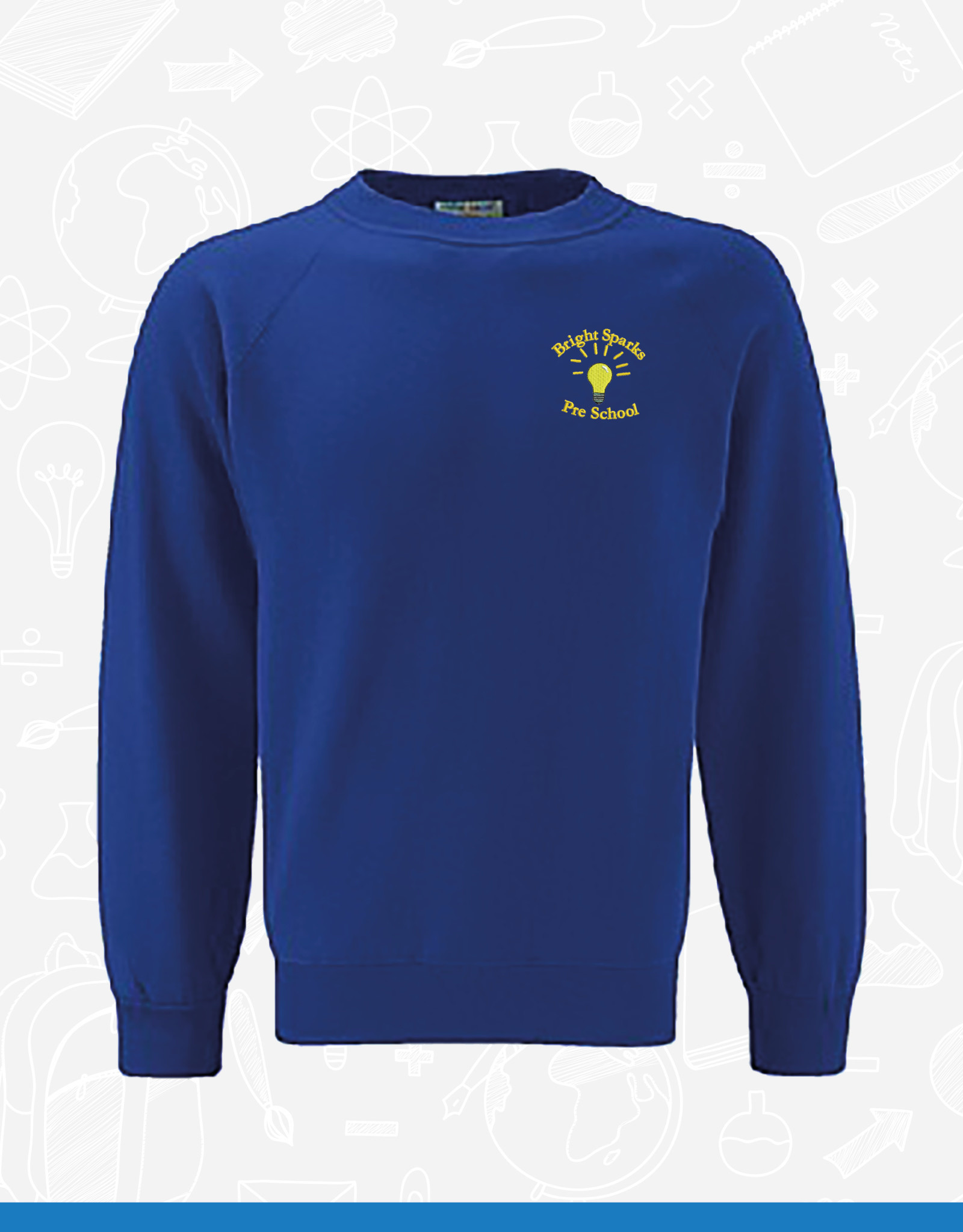 Banner Bright Sparks PreSchool Sweatshirt (3SR)