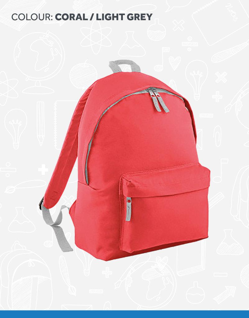 BagBase Contrast Backpack Schoolbag (BG125) (BAN)