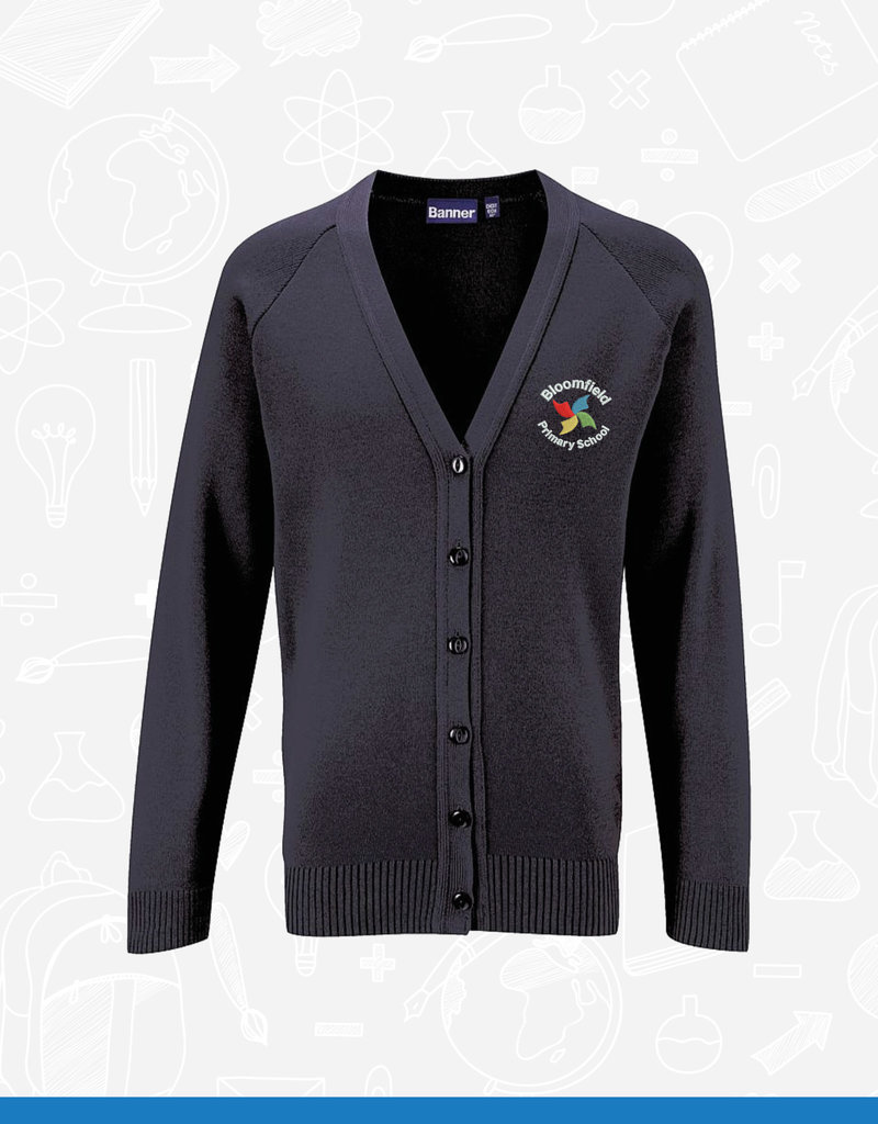 Banner Bloomfield Primary Cardigan (1WQ) (BAN)