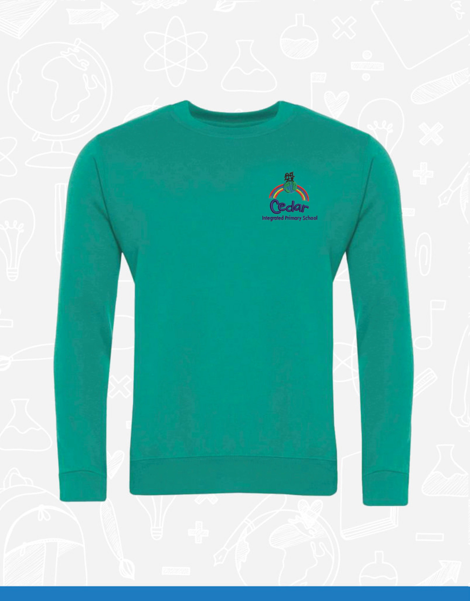 Banner Cedar Integrated Primary Sweatshirt (3SD)