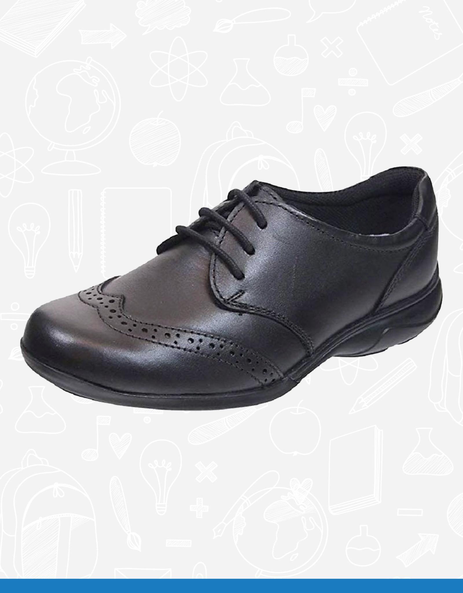Term Summer Leather School Shoe