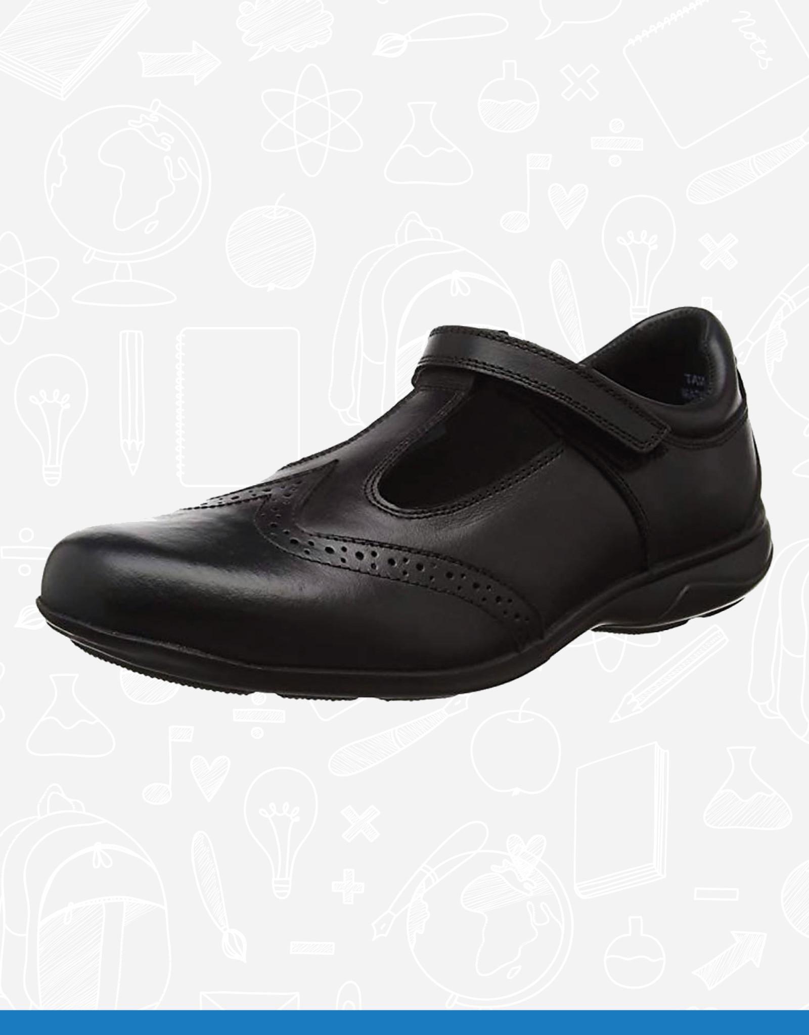 Term Janine T Bar Leather School Shoe