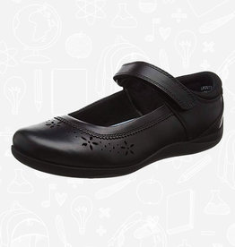 Term Scarlett Leather School Shoe