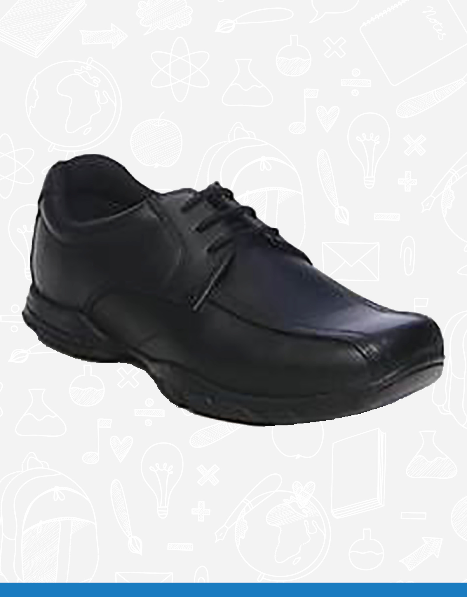 Term Vinny Leather School Shoe