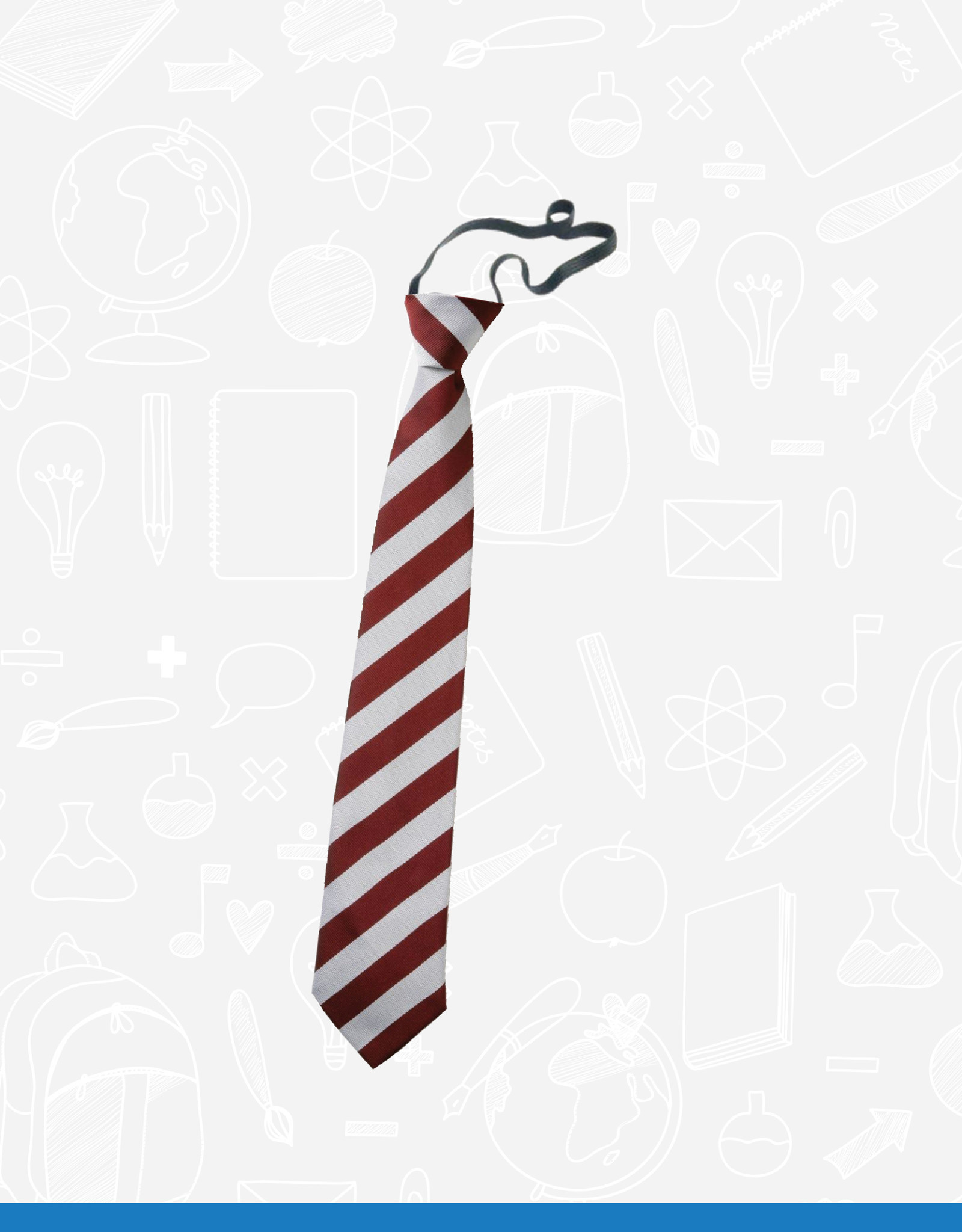 William Turner Clandeboye Primary Elasticated Tie (BS72EL)