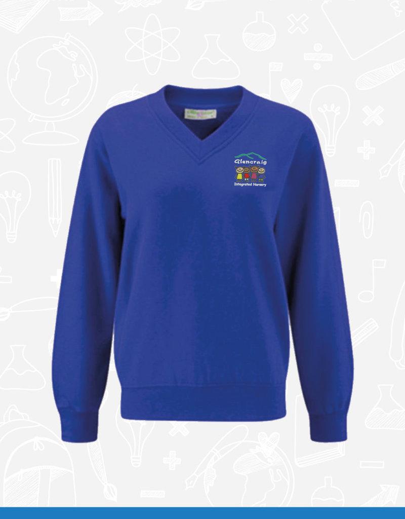 Banner Glencraig Nursery V-Neck Sweatshirt (3SV)