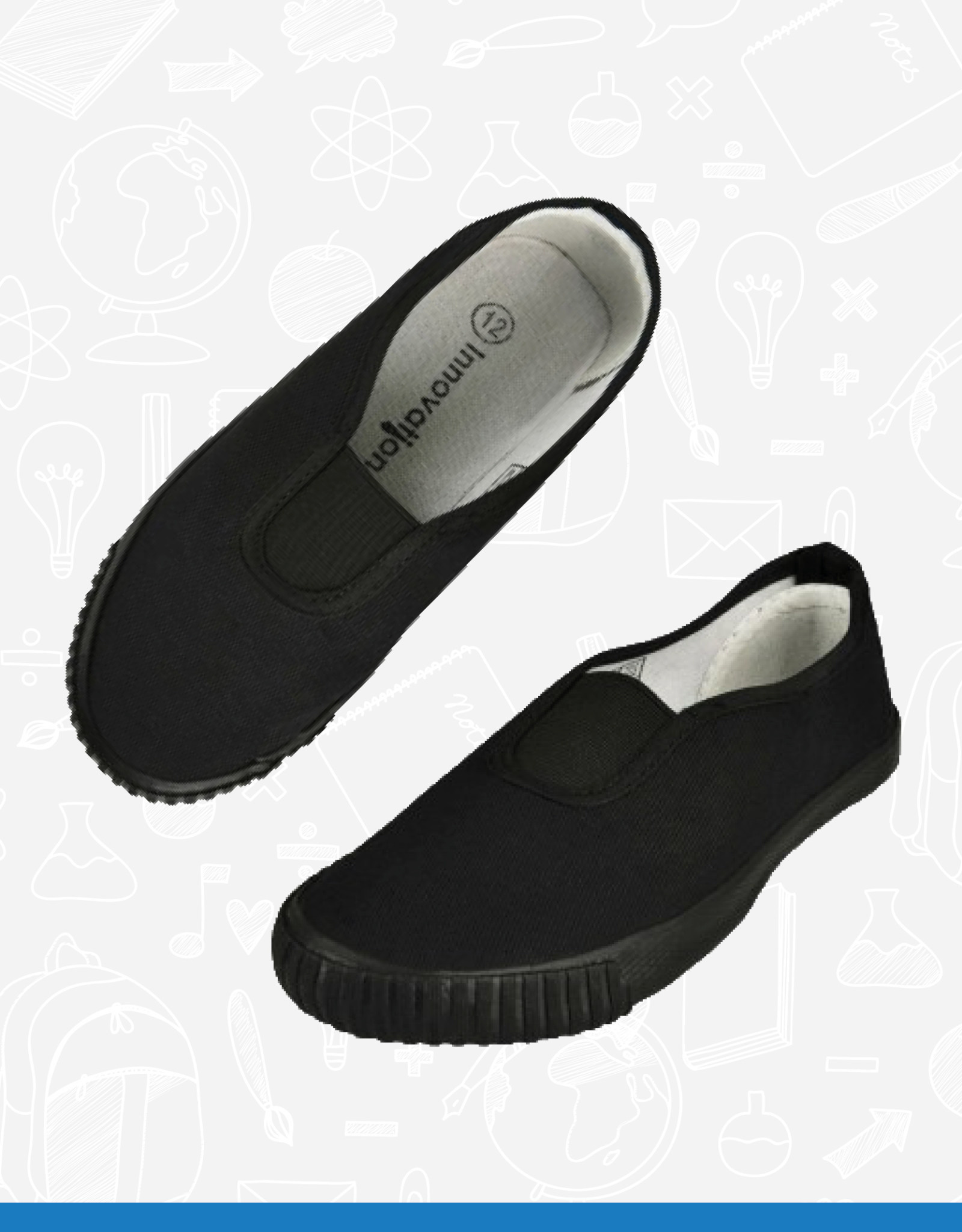 Innovation Gusset Plimsoles - PLG