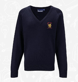 Banner Bangor Academy 6th Form V-Neck Sweater (1WP)