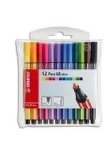Stabilo Stabilo Pen 68 Mini Set 12 (668/12-06)