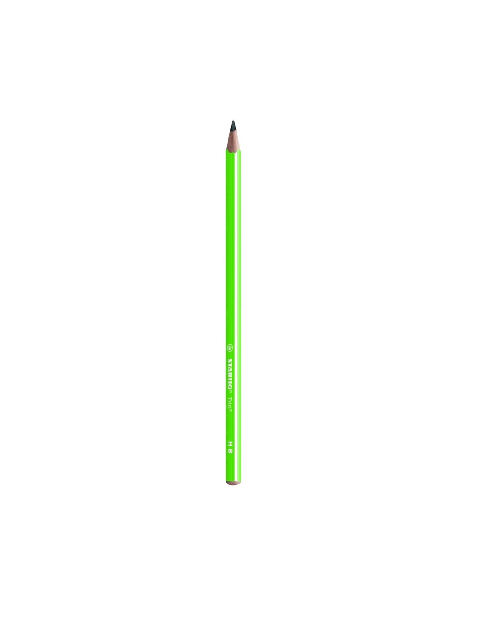 Stabilo Stabilo Trio Pencil Green (369/04-HB)
